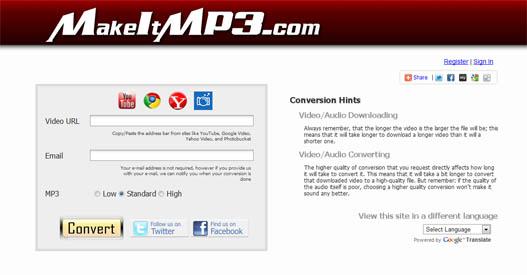 Conversor a MP3