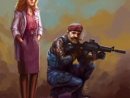 Mario Modern Warfare