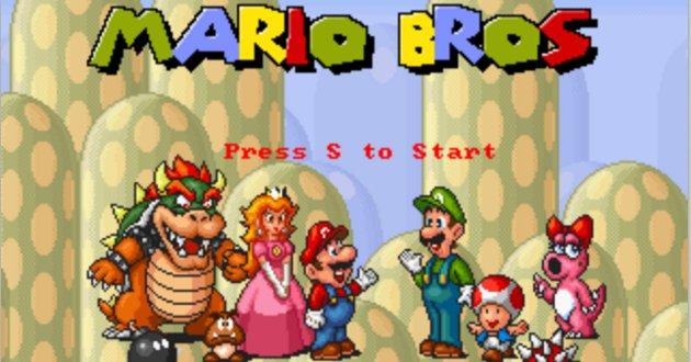 Mario Bros HTML5