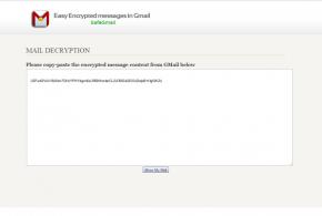 Mensaje encriptado en Gmail