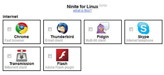Ninete para Linux