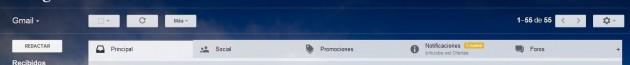 Nueva interfaz de pestañas en Gmail