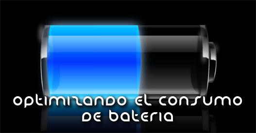 Obtimizando el consumo de bateria