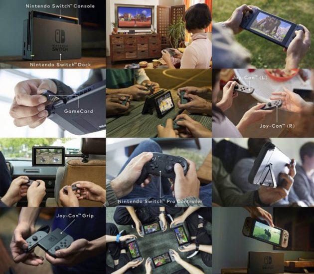 Opciones Nintendo Switch