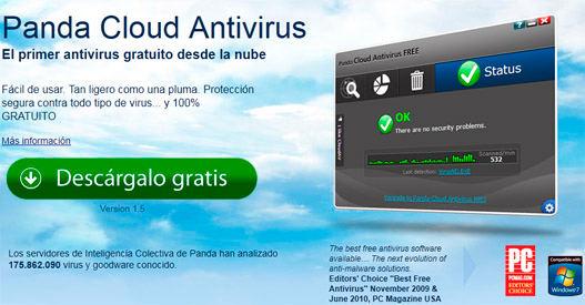 Panda Cloud Antivirus 1.5