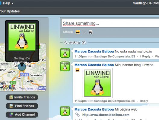 Invitaciones Pip.io, compartir textos y archivos en tiempo real.