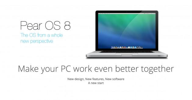 Pear OS 8