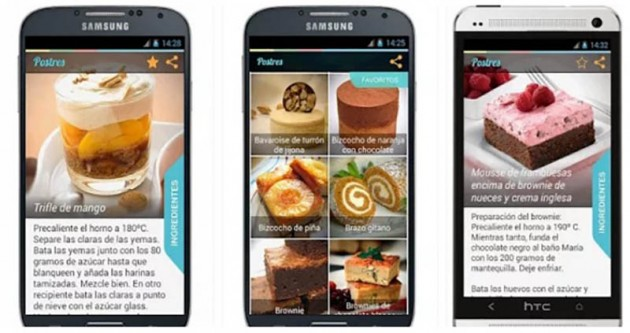 Postres Android