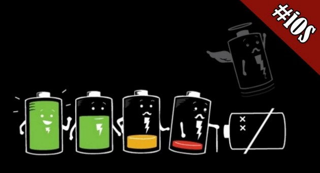 Problema de batería en iOS