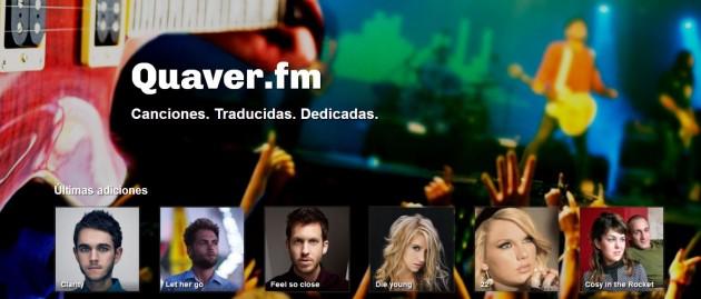 Dedicar canciones en Facebook o Twitter Quaver.fm_-630x269
