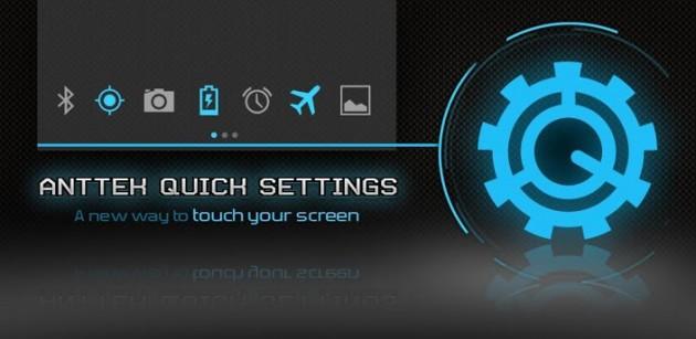 Quick Settings en cualquier versión de Android