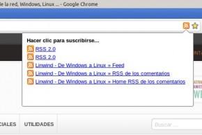 RSS para Google Chrome
