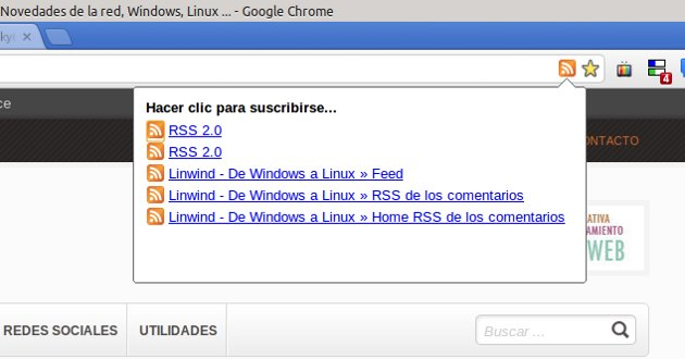 RSS para Google Chrome
