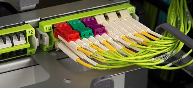 Rack de fibra