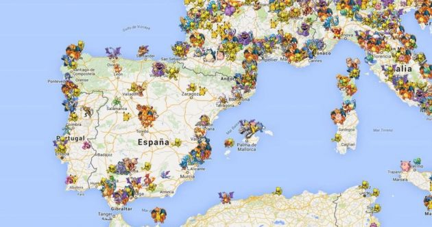 Radar Pokemon Go