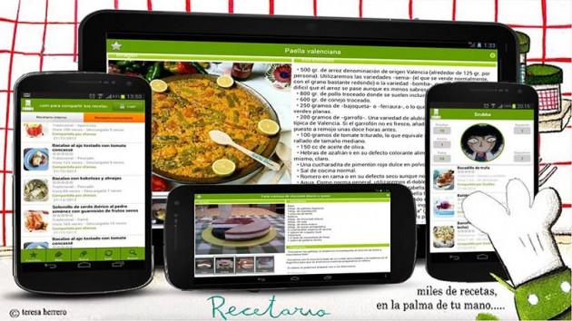 Recetario Android
