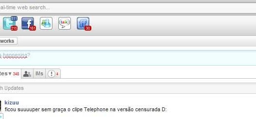 Redes Sociales en Firefox