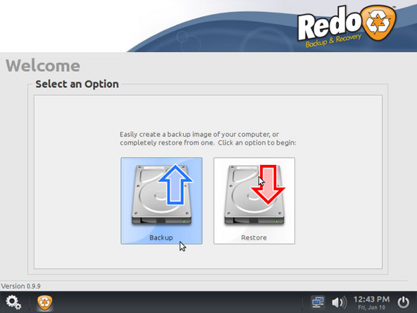Redo Backup & Restore