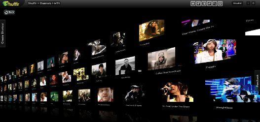 Shufflr, un navegador de vídeos social