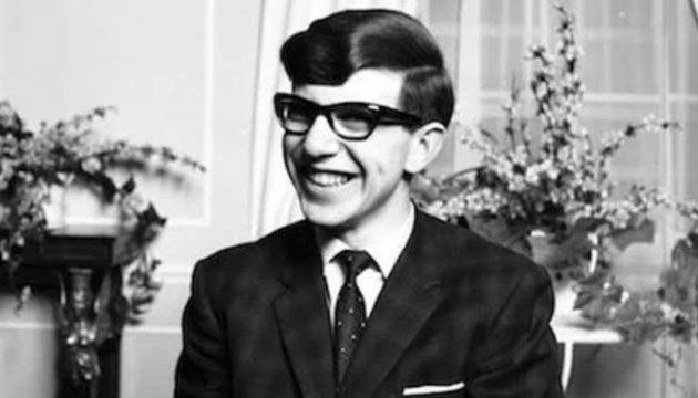 Stephen Hawking joven