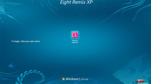 Tema Windows 8 para XP
