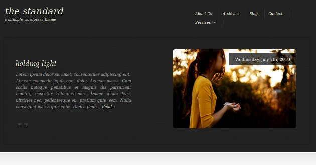 Tema corporativo para WordPress 1