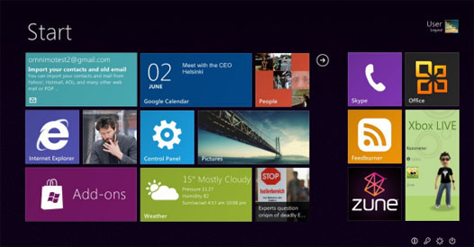 Tema de Windows 8