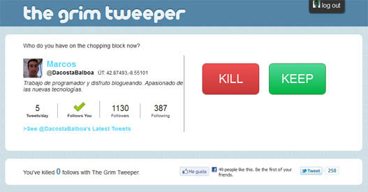 The Grim Tweeper