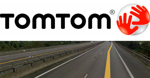 TomTom Street View