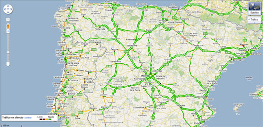 Trafico Google Maps