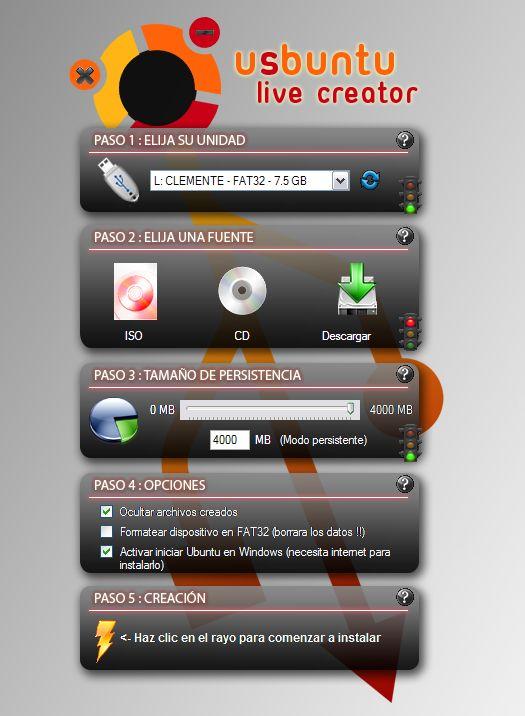 USB Ubuntu