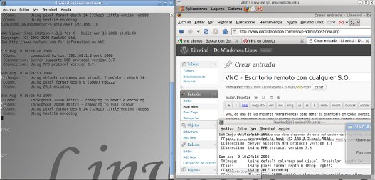 VNC y TightVNC – Escritorio remoto con cualquier S.O.