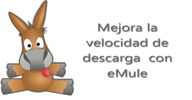 Velocidad descarga eMule