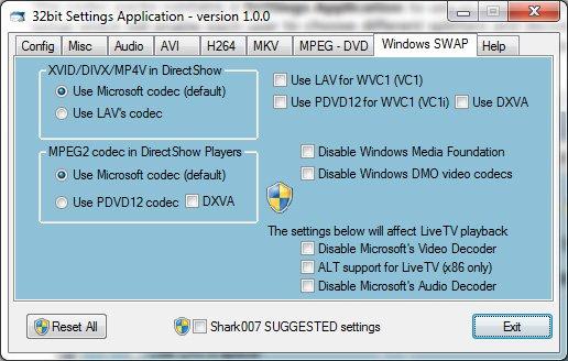 Windows 8 Codecs