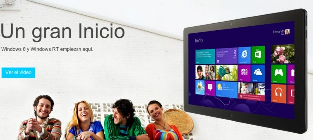Descargar Windows 8 Pro por 29,99 Euros