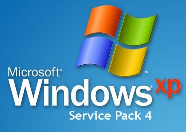 windows xp pro service pack 4