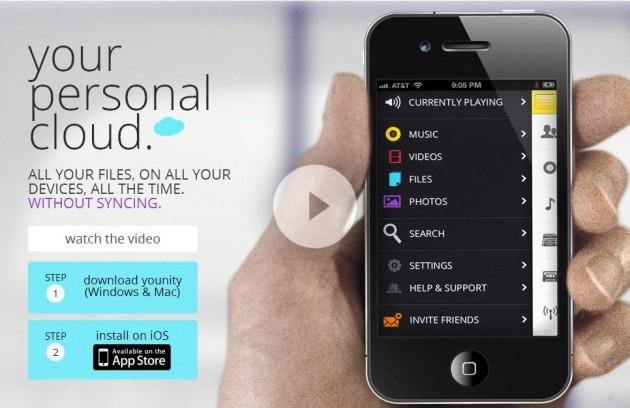 Younity, crea tu propio servicio de almacenamiento online