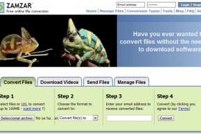 Convertir ficheros