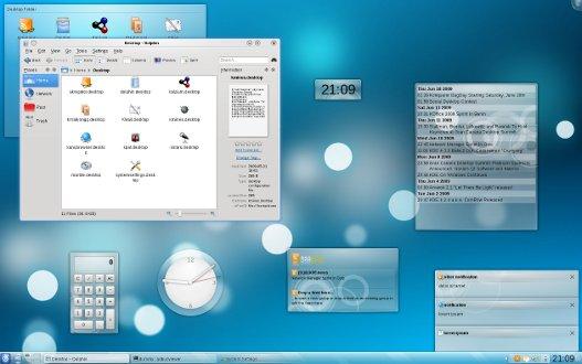air KDE 4.3