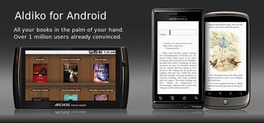 Leer libros electrónicos en Android con Aldiko
