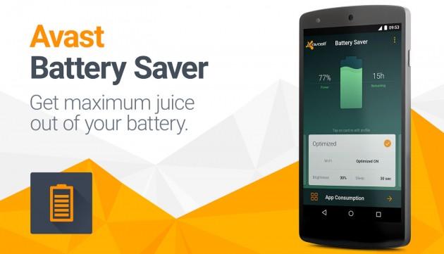 avast ahorra bateria