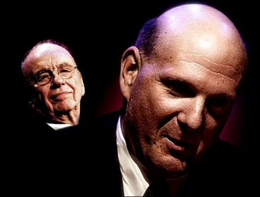 Microsoft y Murdoch contra Google