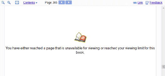 Book search limits
