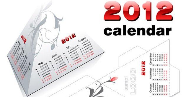 calendario 2012 en piramide