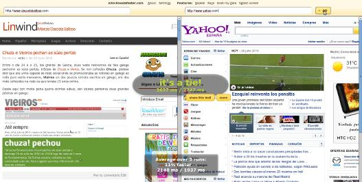 comparar varias paginas web