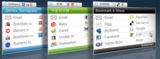 SharePost y ShareThis – Pon fácil compartir noticias de tu web.
