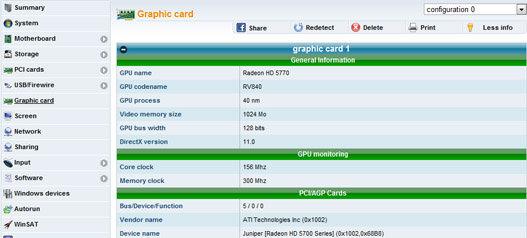 Detectar configuración y drivers del PC online