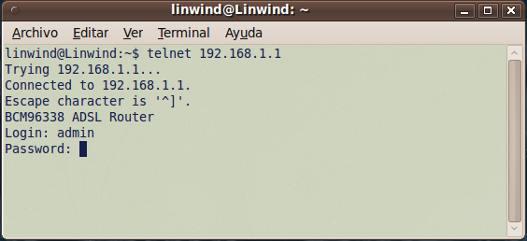 Listado de contraseñas por defecto para routers