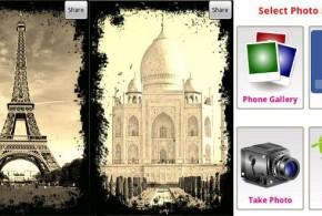 crea fotos retro en android