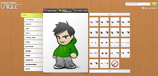 Crea tu avatar personalizado